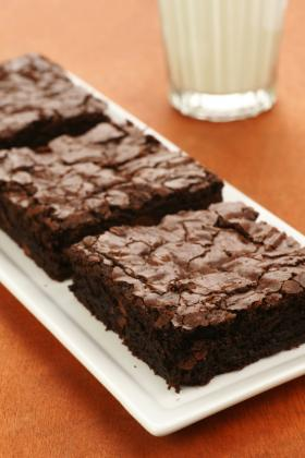 Silver Palate | Chewy-Gooey Orange Chocolate Brownies